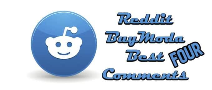 Best Buymoda Reddit Comments Four